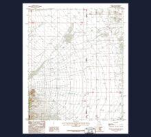 USGS TOPO Map Arizona AZ Portal NE 312959 1987 24000 Kids Tee