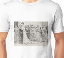 The Jury Disagrees - Charles Dana Gibson -  1904 Unisex T-Shirt