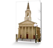 First Baptist Church, Knoxville, Tennessee Greeting Card