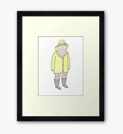 The Fisherman's Son Framed Print