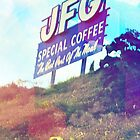 JFG Coffee Sign, South Knoxville, Tennessee by © Bob Hall