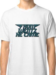 Philadelphia Eagles From Wentz He Came Football NFL Classic T-Shirt