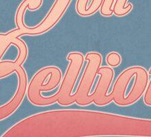 Retro Jon Bellion Stamp (Transparent Edition) Sticker