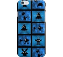 FRIENDLY MONSTERS iPhone Case/Skin