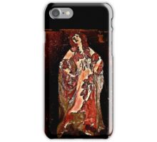 Movie Star in Sheer Gown iPhone Case/Skin