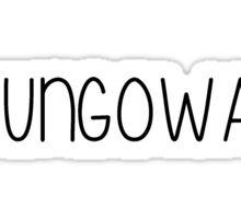 Camp Agawak- Uh Ungowa Sticker
