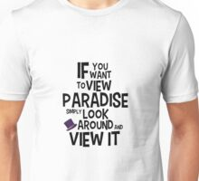 If You Want To View Paradise Unisex T-Shirt