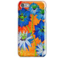 Love in a mist - Orange Haze iPhone Case/Skin