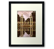 Reflections of an Amphitheater Framed Print