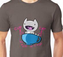 Cup Cat [ Snow Version ] Unisex T-Shirt