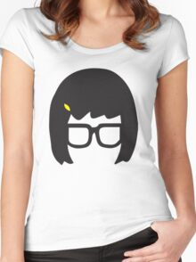 Top Seller - Tina Belcher: Silhouette Style  Women's Fitted Scoop T-Shirt