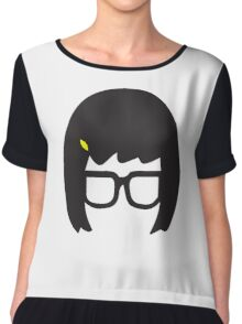 Top Seller - Tina Belcher: Silhouette Style  Chiffon Top