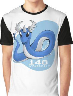 Pokemon #148: Dragonair Graphic T-Shirt