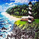 cliffview lighthouse by LoreLeft27