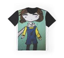 Brunette in Overalls  Graphic T-Shirt