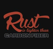 Rust is lighter than carbon fiber (1) by PlanDesigner
