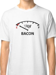 Running On Empty : Bacon Classic T-Shirt