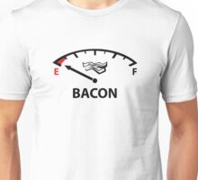 Running On Empty : Bacon Unisex T-Shirt