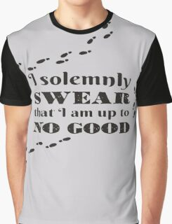 Harry Potter - I solemnly Swear Graphic T-Shirt