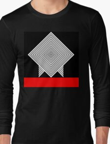 Graphic background Long Sleeve T-Shirt
