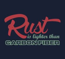 Rust is lighter than carbon fiber (4) by PlanDesigner