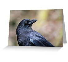The Northwest Crow Greeting Card