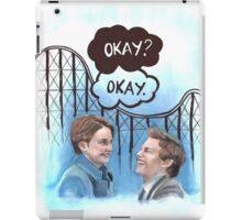A roller coaster that only goes up iPad Case/Skin