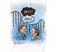 A roller coaster that only goes up Poster