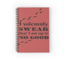Harry Potter - I solemnly Swear Spiral Notebook