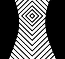 Graphic dress Sticker