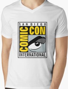 Comic Con Mens V-Neck T-Shirt