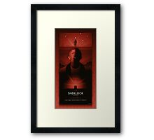 Sherlock Series 2 Framed Print