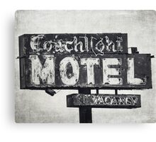 Coachlight Motel in Chicago Canvas Print