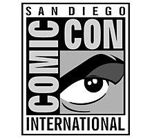 Comic Con Greyscale Photographic Print