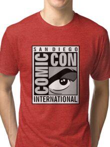 Comic Con Greyscale Tri-blend T-Shirt