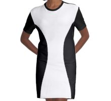 Slimming dress Graphic T-Shirt Dress