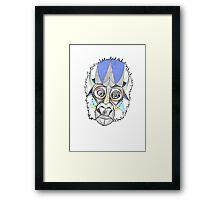 Gordon the Gorilla II Framed Print