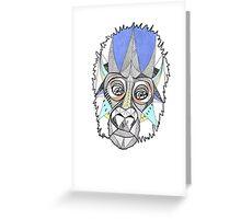 Gordon the Gorilla II Greeting Card