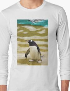 Penguin Paddling Long Sleeve T-Shirt