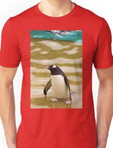 Penguin Paddling Unisex T-Shirt