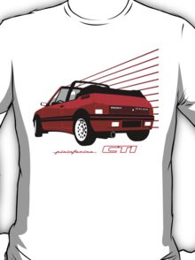 Peugeot 205 CTI cabriolet red T-Shirt