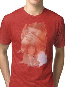 Lorelai Gilmore - brush effect Tri-blend T-Shirt
