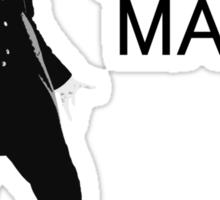 Dr Who - Am I a good man? Sticker