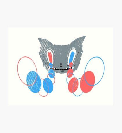 Canis Lupus Hypnosis Art Print