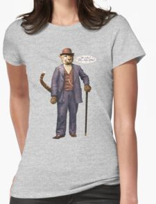 "One Cool Cat: ""Well . . . Hello, kitties!"" Womens Fitted T-Shirt"