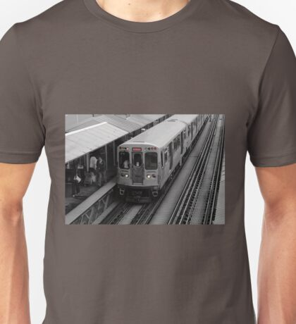 "Chicago ""L"" Unisex T-Shirt"