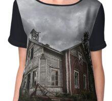 Abandoned Wind House Chiffon Top