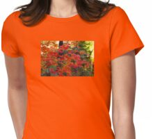 Ready To Fall Womens Fitted T-Shirt
