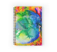Earth on Fire Spiral Notebook
