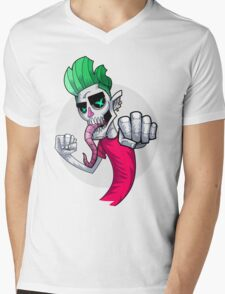 Skrumps K.O. Mens V-Neck T-Shirt